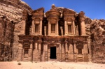 Monastery Petra in Jordan