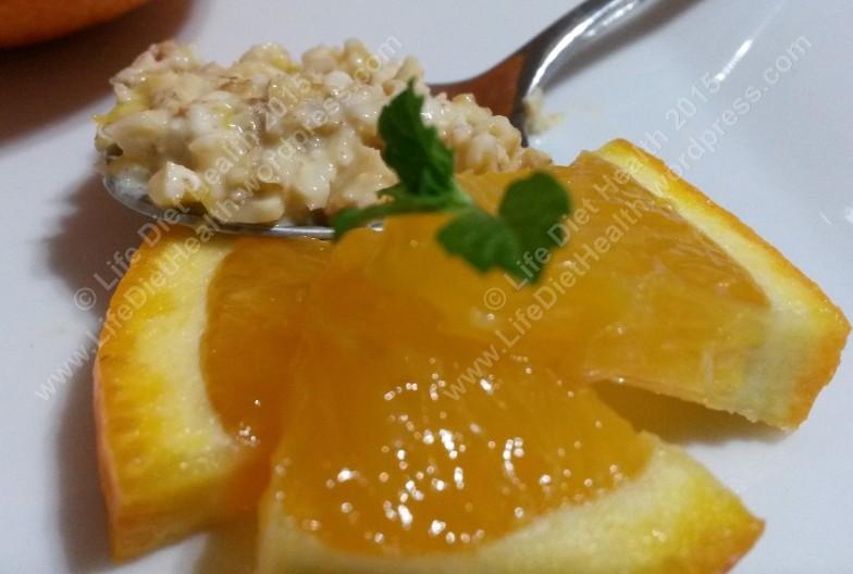 Look at those juicy orange slices!