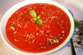 Vibrant Festive Soup
