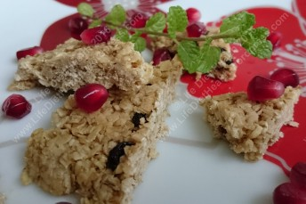 Light & delicious flapjack