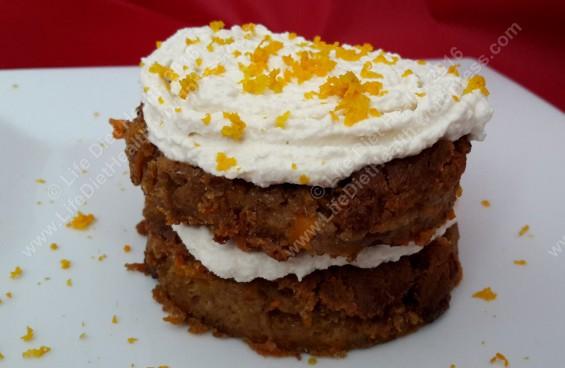 Vegan carrot cake!