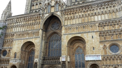Front of Lincoln Cathedral