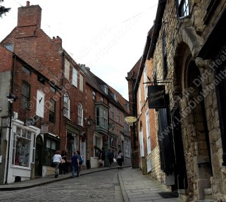 View up Steep Hill