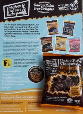 Dairy-free crunchie pieces