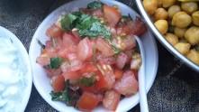 Quick tomato relish