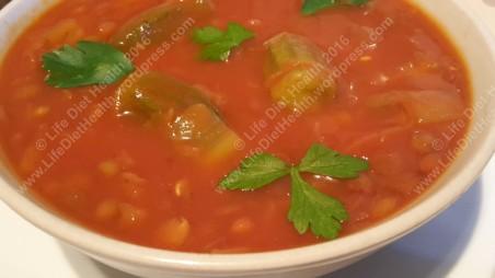 Okra & Lentil Soup