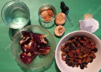 Basic mincemeat ingredients