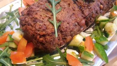 A delicious looking whole haggis