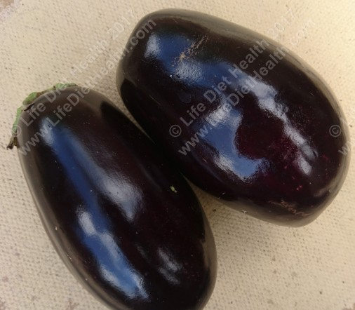 First ever hoomegrown aubergines