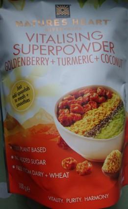 Goldenberry, tumeric & coconut