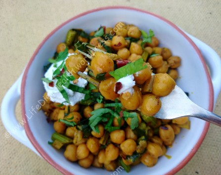 Chickpeas and chard (1)