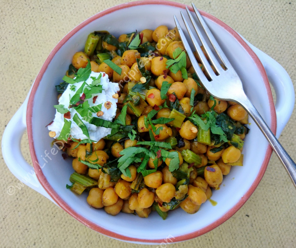 Chickpeas and chard (4)