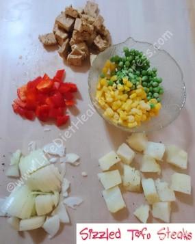 Prefer one pan meals - chop it & stir fry it!