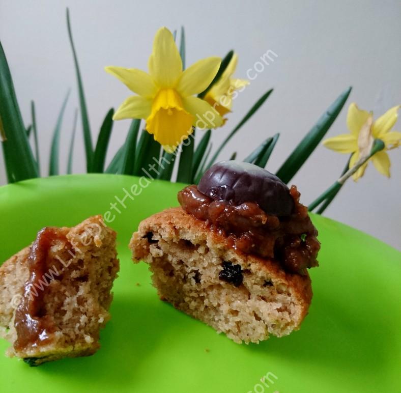 Hot Cross Bun Muffins (1)